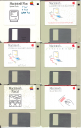 Macintosh Floppies circa 1986